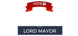 Steven Kelly for Lord Mayor – City of Adelaide Logo