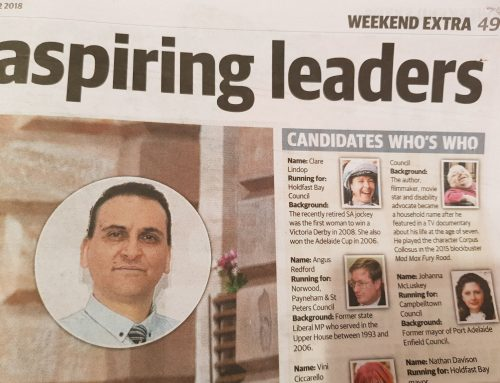 Q&A with Adelaide mayoral candidates – The Advertiser, September 21, 2018
